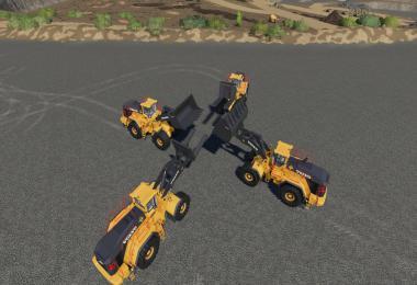 Volvo L-350H Mining Loader + New Tools  v1.2