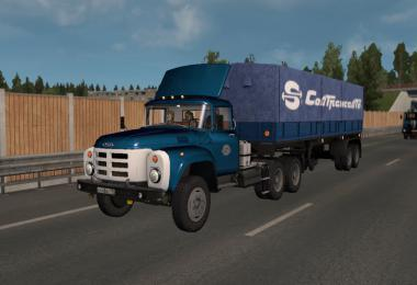 ZIL-13x truck and trailer pack 24.02.21 1.39